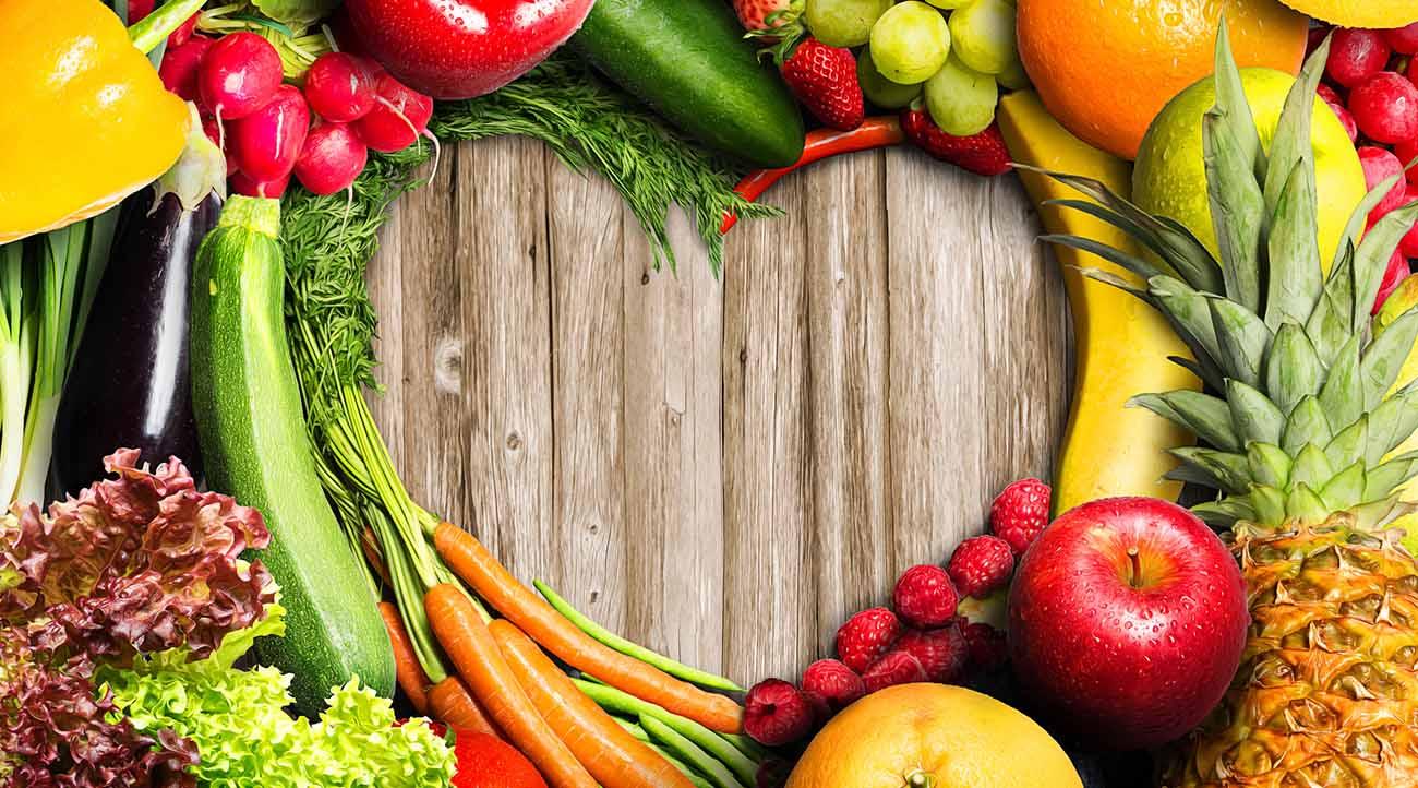 alimentazione sana ricca di fibre
