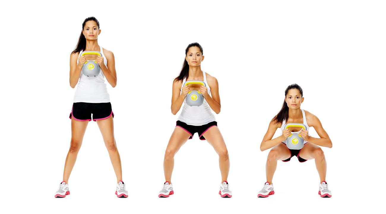 Posizione lo squat: migliore esercizi per cosce e glutei