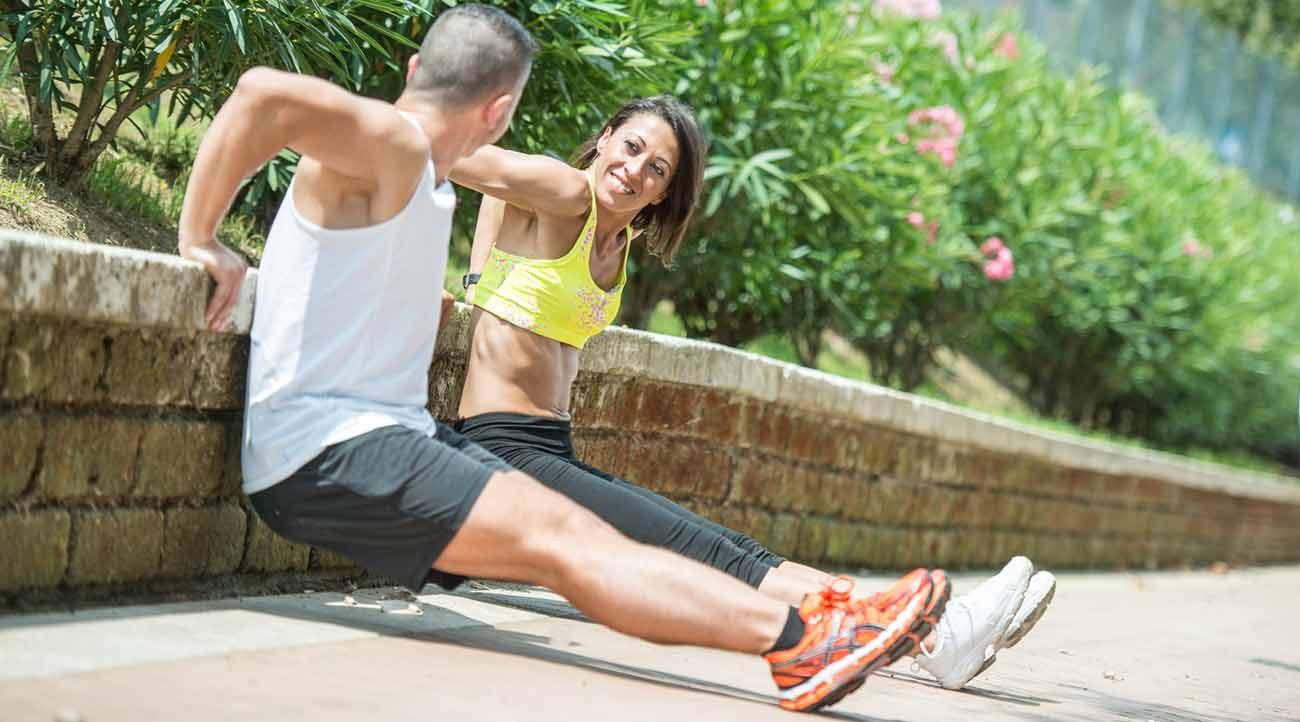 semplici esercizi per essere in forma